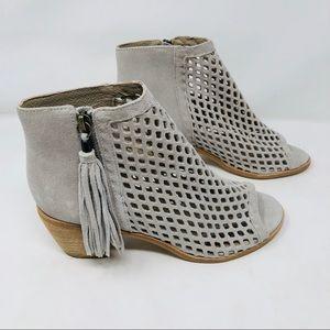 New Matisse Indie Cut out tassel ankle booties